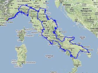 parcours-Italie