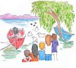 Les canards du Lago di Bolsena
