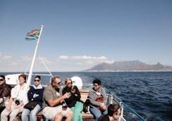 En route pour Robben Island