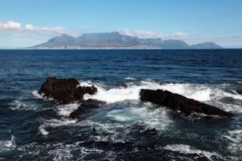 Table Mountain de Robben Island