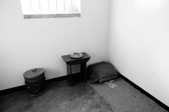 Mandela a vécu 18 ans dans cette cellule