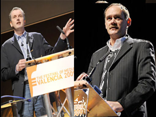 Marteen Albarda y Bernard Glock en Valencia, España
