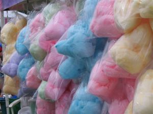 gourmet cotton candy bags