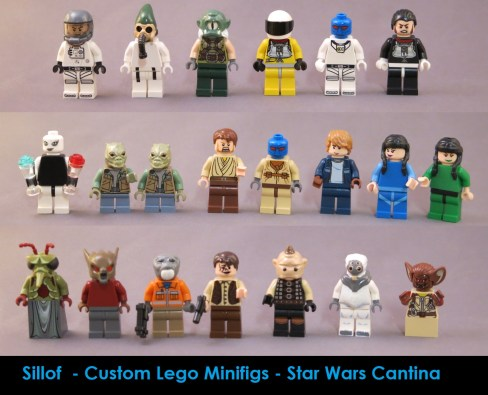 sillof custom star wars mos eisley cantina lego