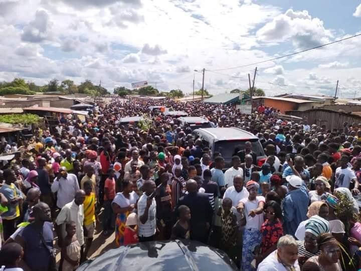 Côte d'Ivoire: En route pour son village, le Pdt Gbagbo crée l'émeute. |Mercredi, 30-07-2021