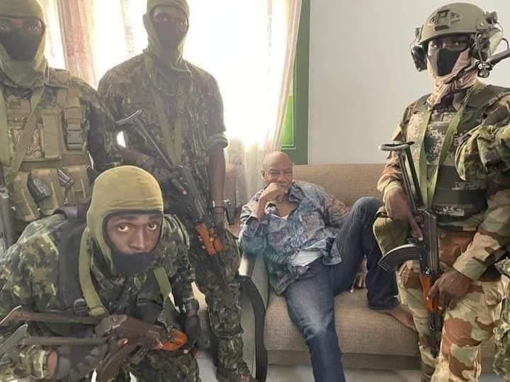 Guinée : La junte donne un ultimatum de 5 jours à Alpha Condé pour signer sa démission_17-09-21