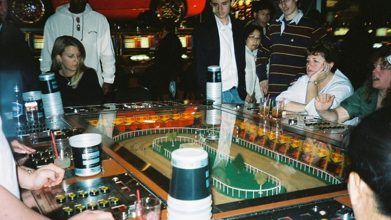 Sigma Derby Horse Racing Casino Game at MGM Grand in Las Vegas