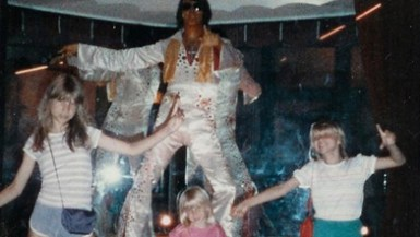 Elvis sighting.