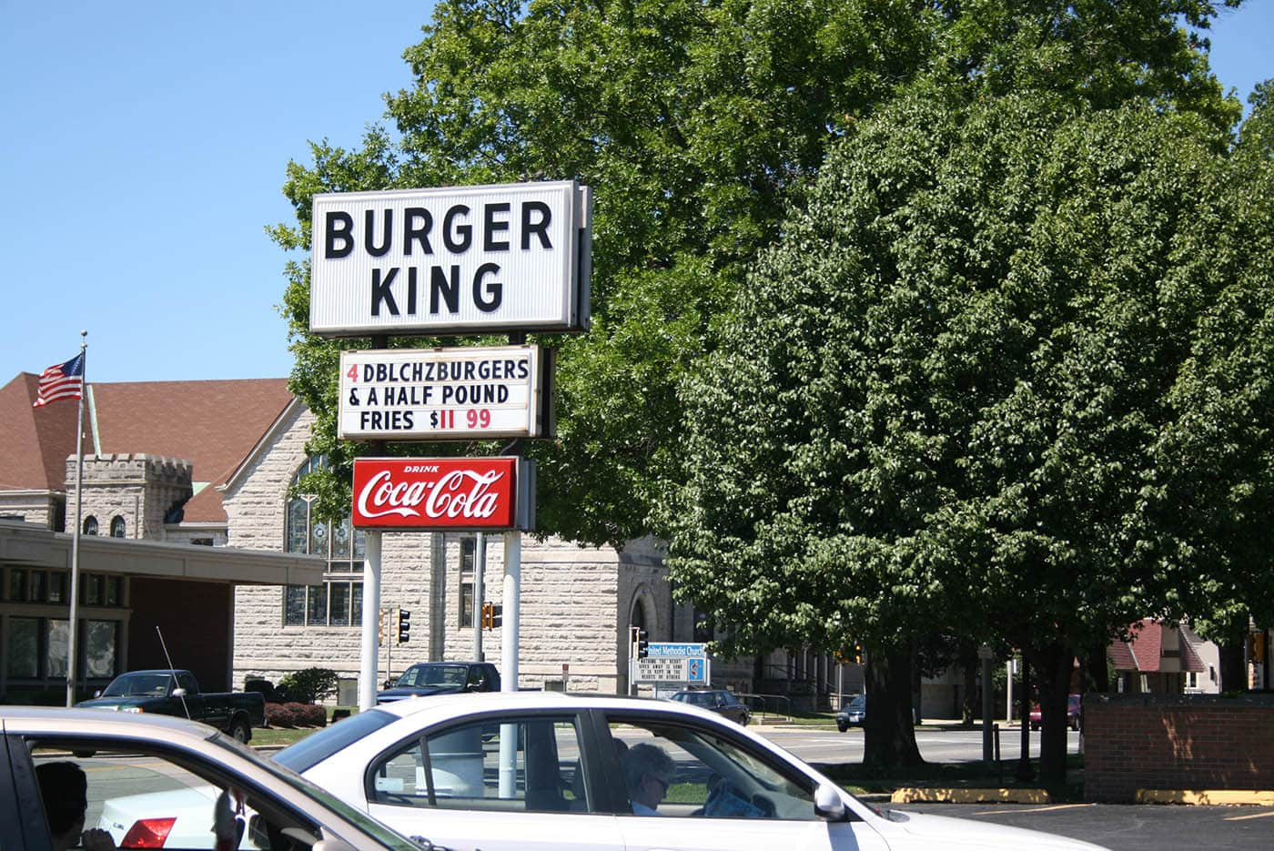 Burger King that is not the Chain Burger King in Mattoon, Illinois