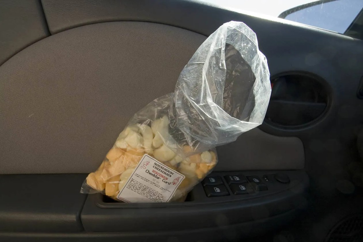 Cheese curds from Mousehouse Cheesehaus in Windsor, Wisconsin -- Roadside Attractions in Wisconsin