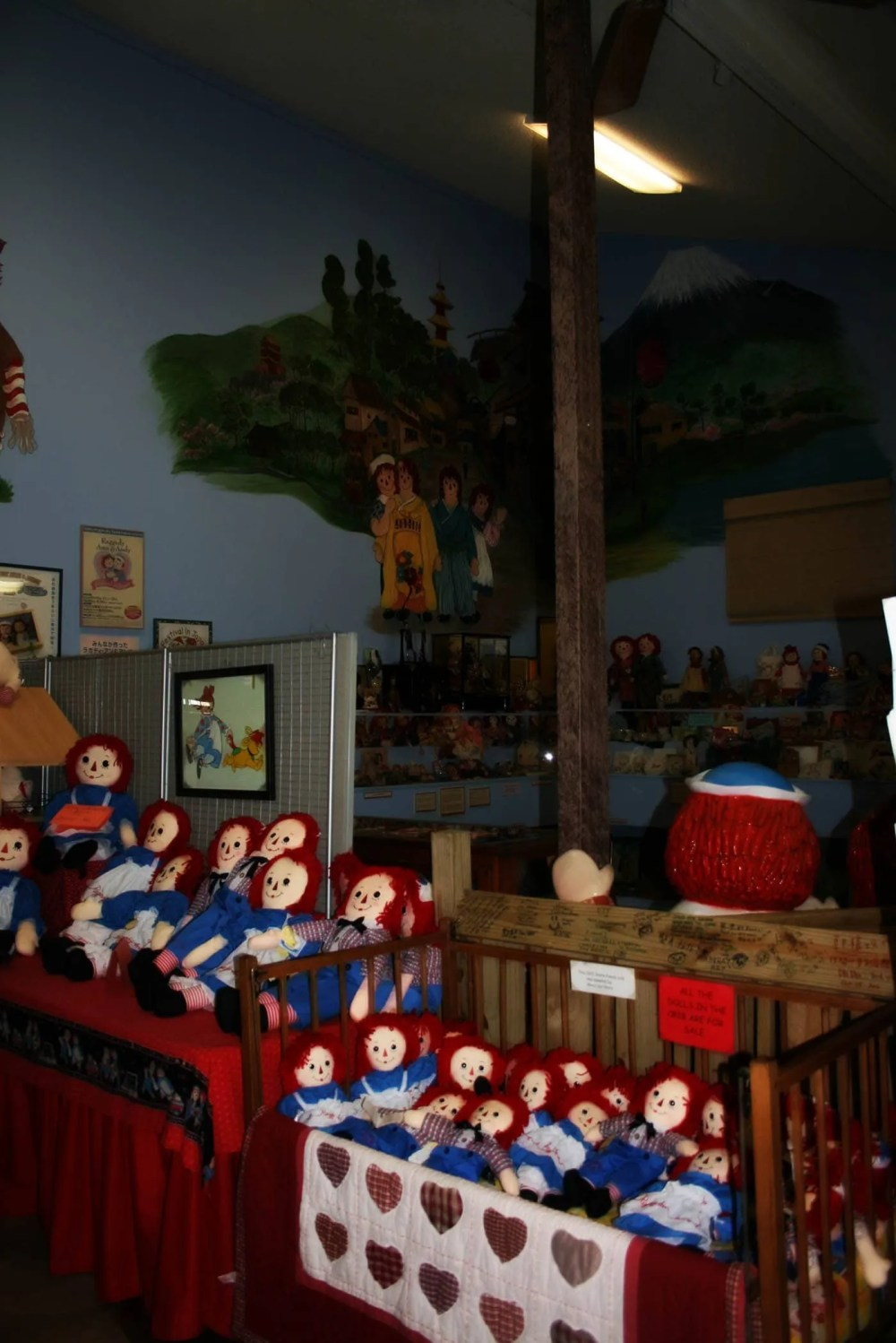 Raggedy Ann & Andy Museum in Arcola, Illinois
