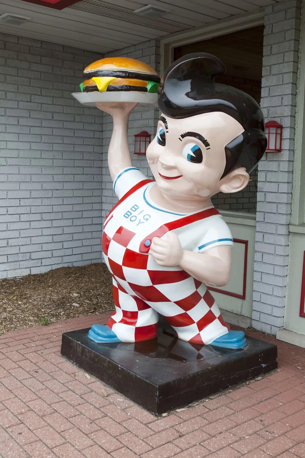 Big Boy Statue - I-94 Exit 23 in Michigan