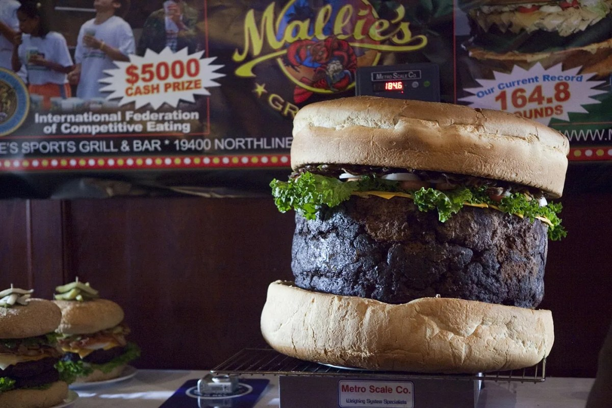 Guinness World Record for Biggest Hamburger