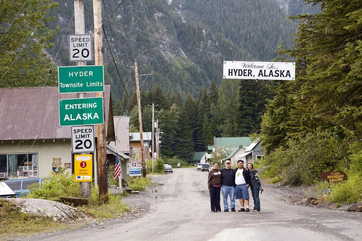 Welcome to Hyder, Alaska – the Friendliest Ghost Town in Alaska!