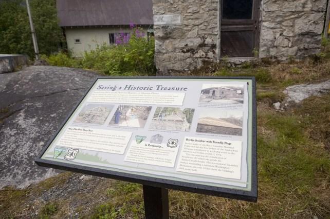 Saving a National Treasure - Storehouse No. 4 - Eagle Point Storehouse - in Hyder, Alaska.