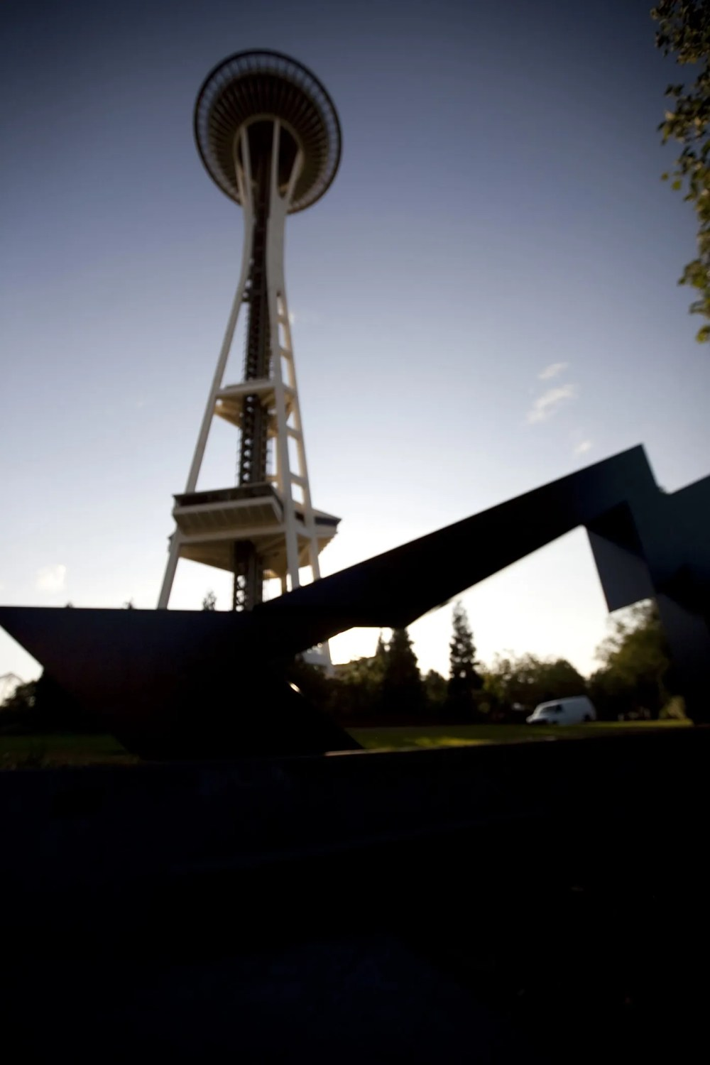 The Space Needle in Seattle, Washington.