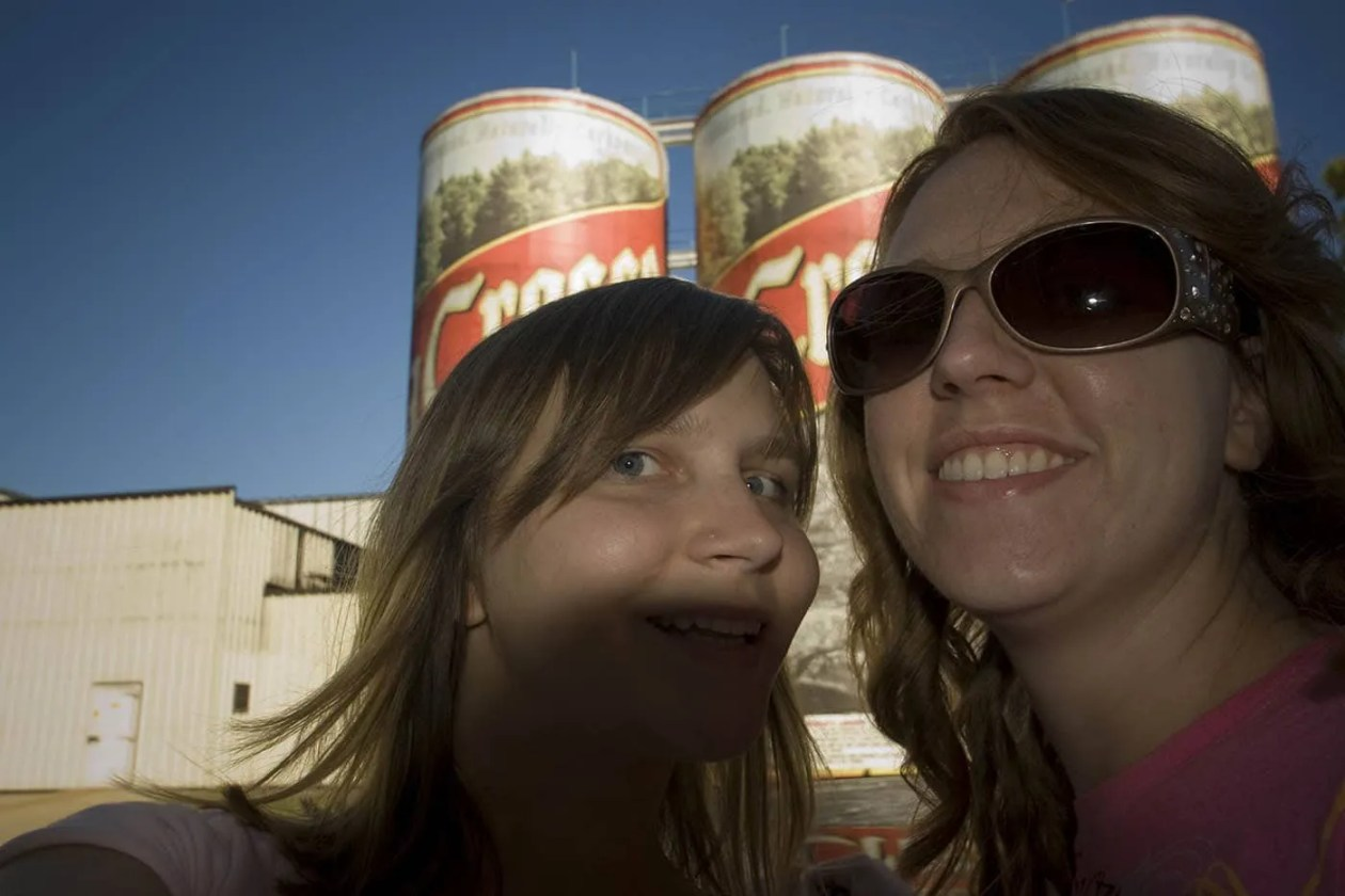 World's Largest Six-Pack of Beer, a roadside attraction in La Crosse, Wisconsin