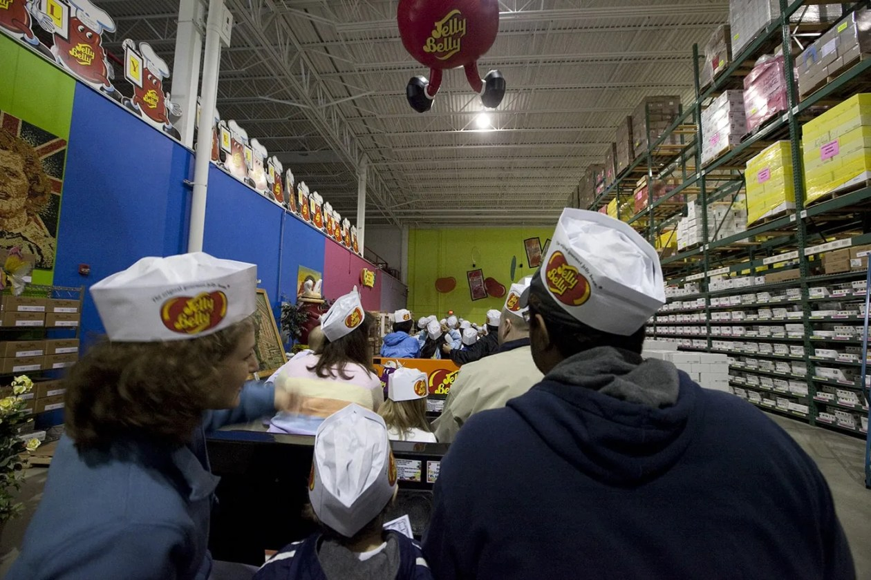 Jelly Belly Tour in Pleasant Prairie, Wisconsin