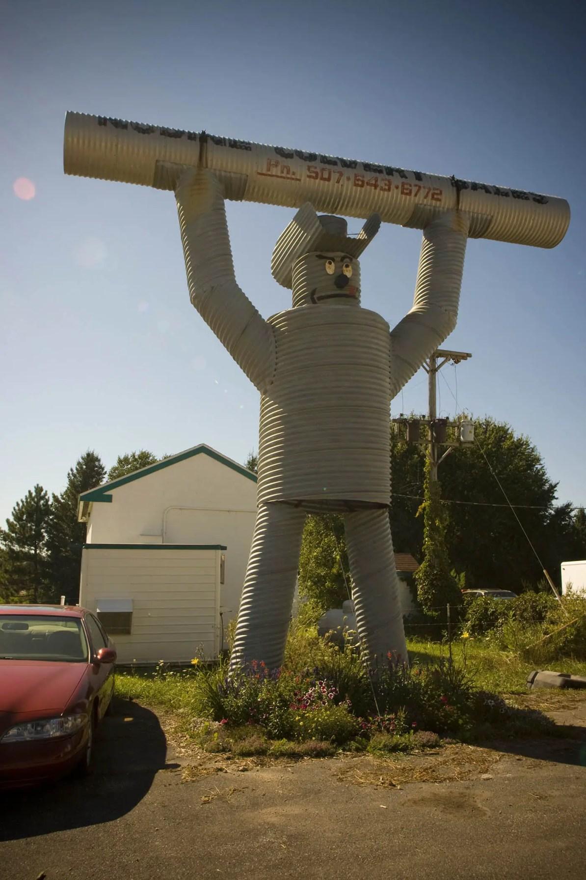 The Culvert Man in Nodine, Minnesota