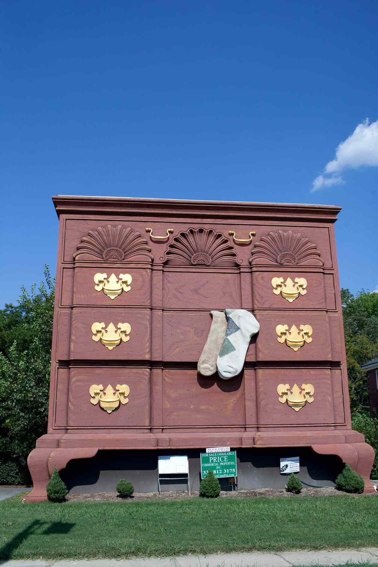 World s largest chest of drawers in high point north carolina