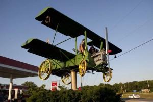 Crapduster airplane in Carthage, Missouri