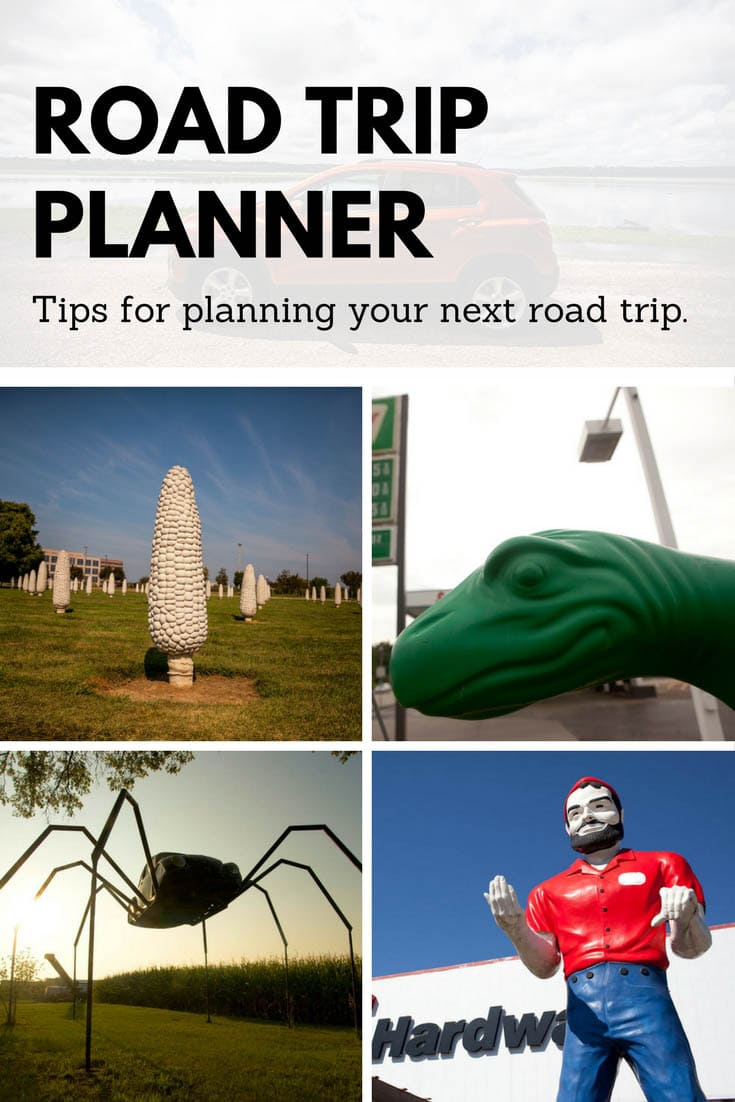 Road Trip Planner - Silly America