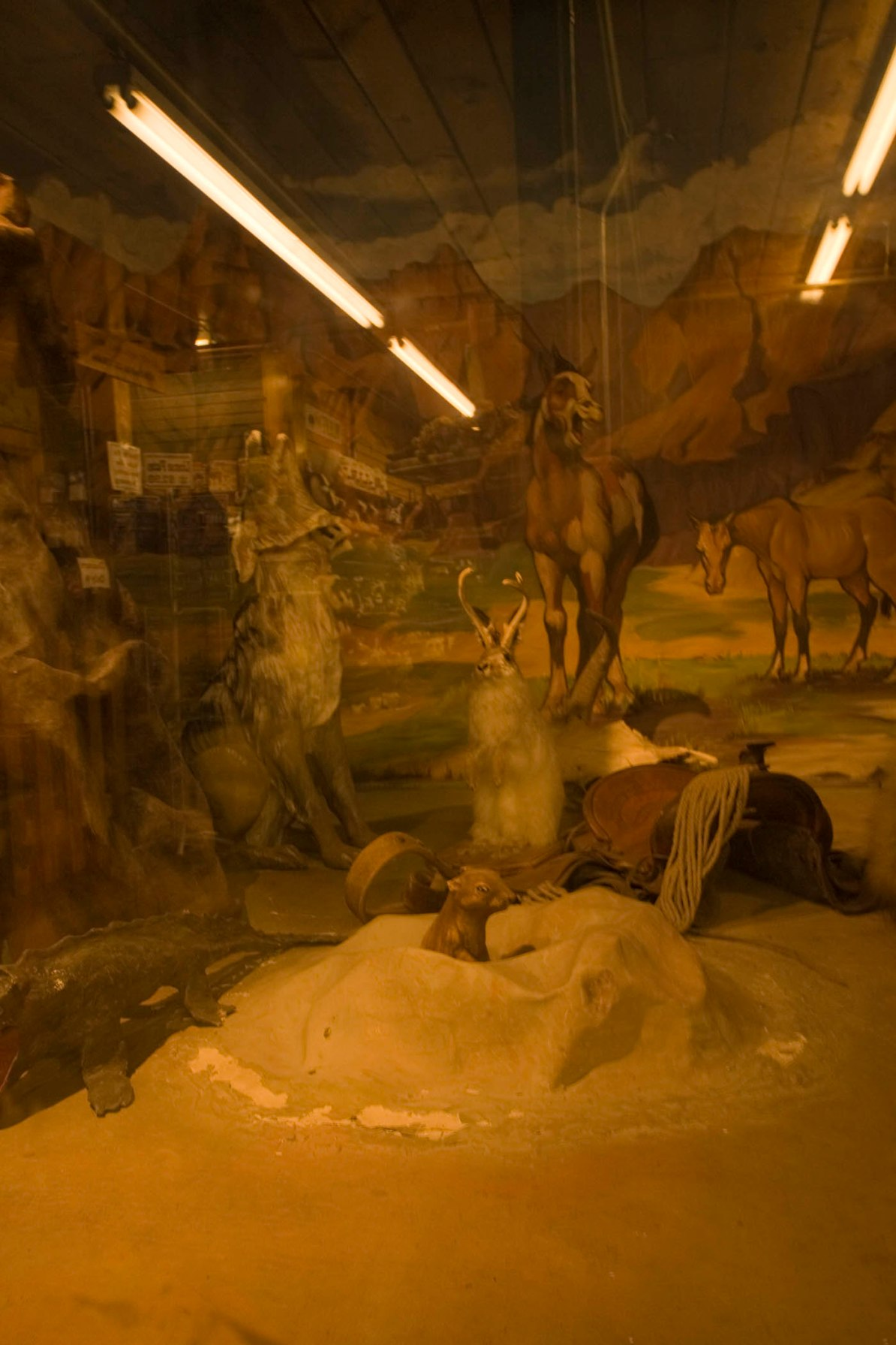 Wax Museum inside Wall Drug Store in Wall, South Dakota