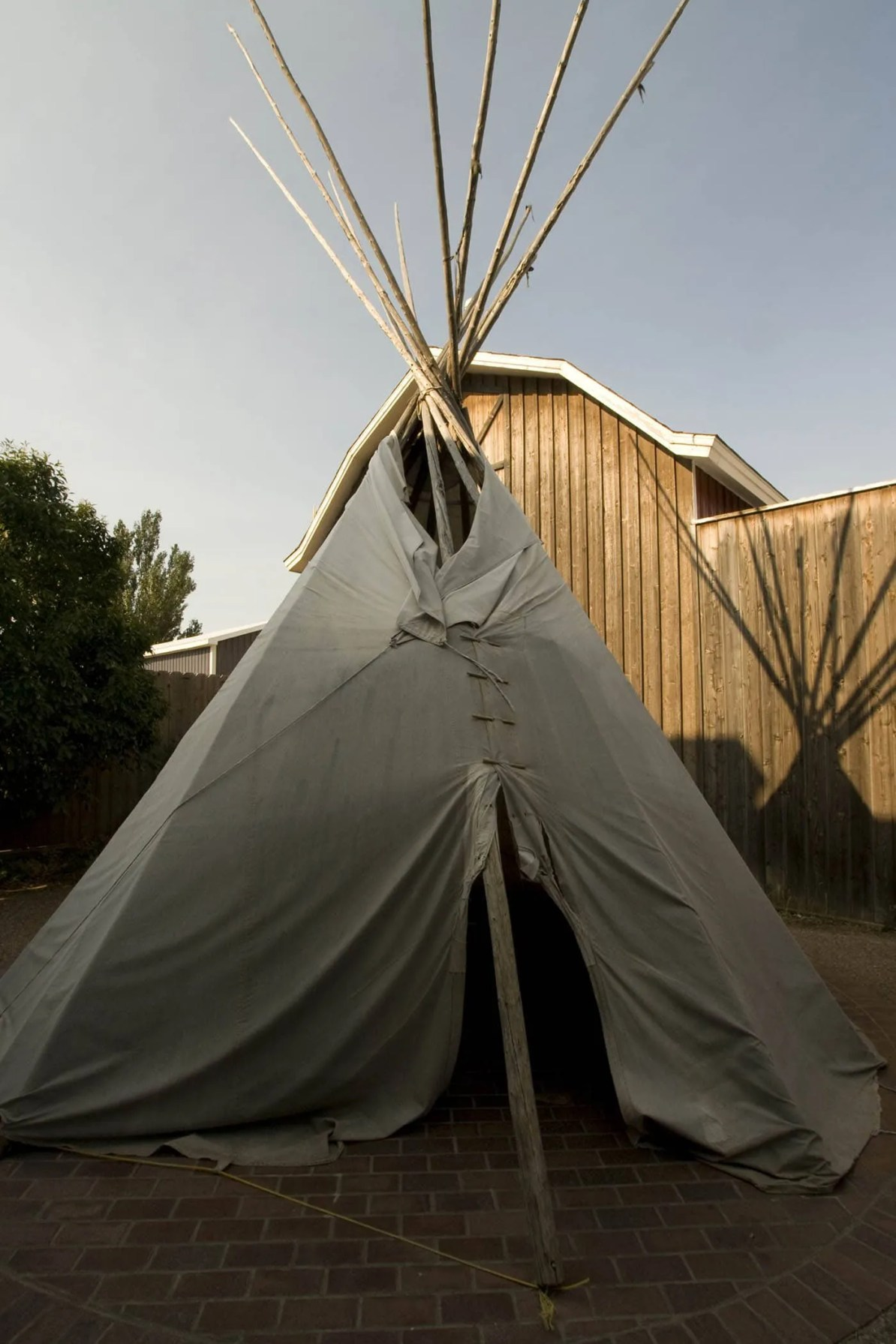 TeePee at Wall Drug Store in Wall, South Dakota