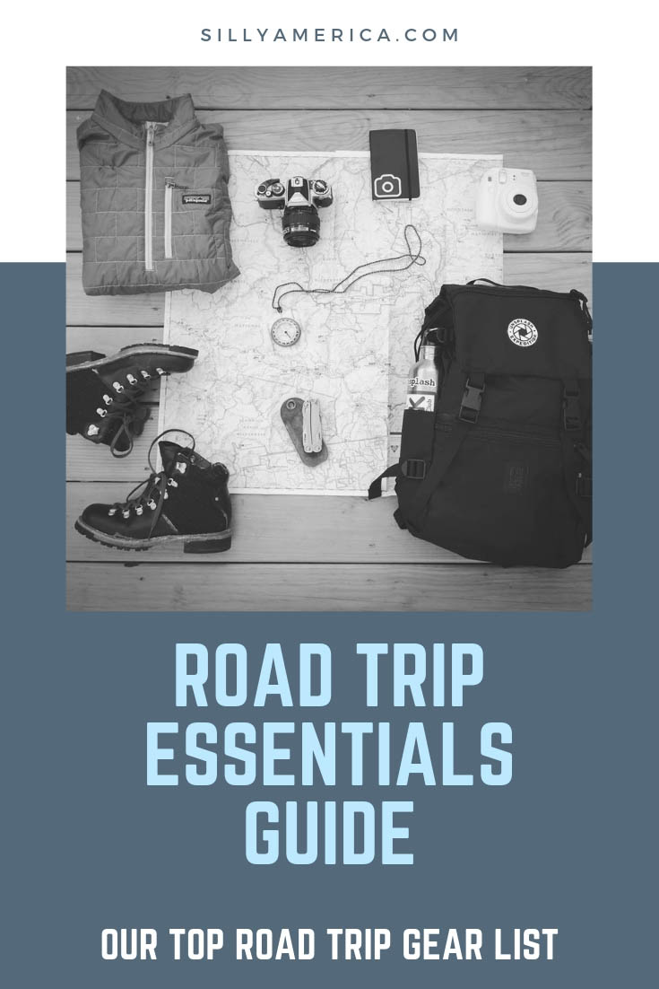 Road Trip Essentials Guide - Our Top Road Trip Gear List. What gear do you need to pack for a road trip? Here is our essential road trip gear guide with must-have product recommendations to pack in your car!