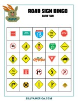 Download Road Sign Bingo - Card 2