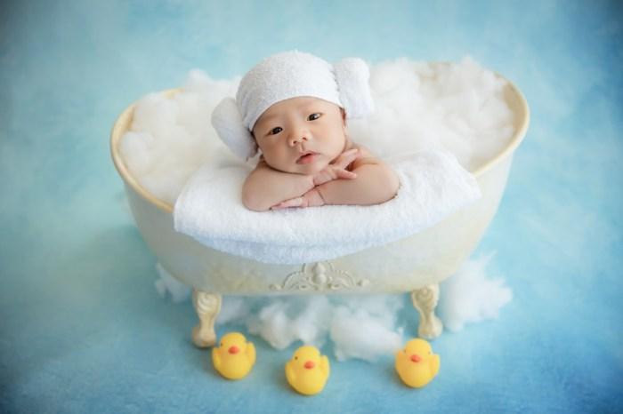 寶寶新生兒寫真│悉心記錄寶貝最初的可愛模樣。泡泡糖定製影像 Bubble Candy*