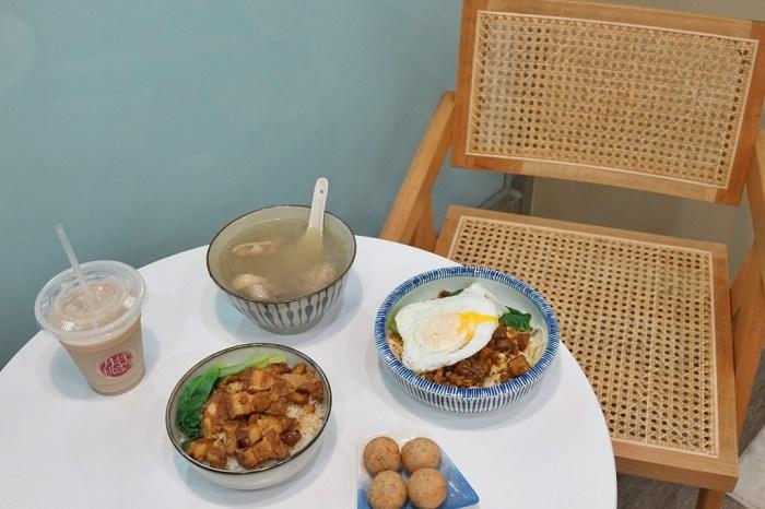 新竹美食│月桃拌麵。新竹市區最美的麵店!傳承阿嬤的好味道‧傳統豆瓣麵與滷肉飯*