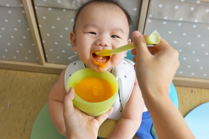 育兒│美國 Olababy 小幼苗新生哺育禮盒。寶寶副食品餐具推薦,超好用的小幼苗軟矽膠湯匙!