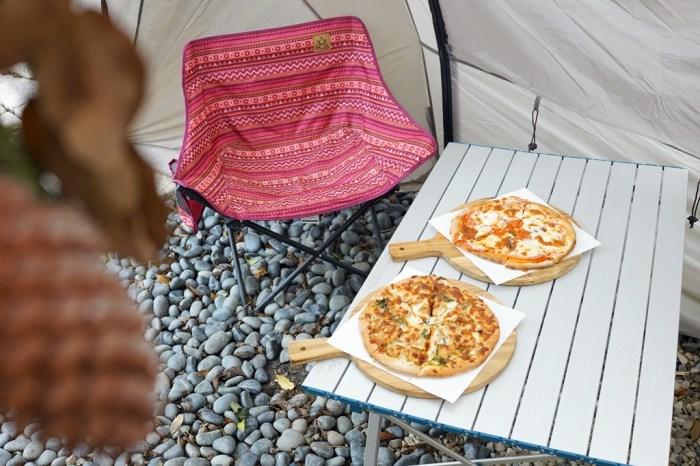 新竹竹北│Pizza shalom 柴燒窯烤披薩。在都市中愜意享受露營體驗的街邊披薩店*