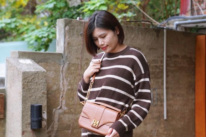 包包穿搭│ROBINMAY 舞豔繁花斜背包。ELLA代言時尚美包‧開箱與穿搭分享*