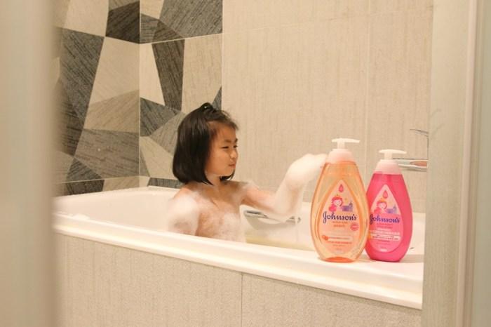 育兒│嬌生嬰兒公主沐浴露。孩子們的洗澡好朋友*