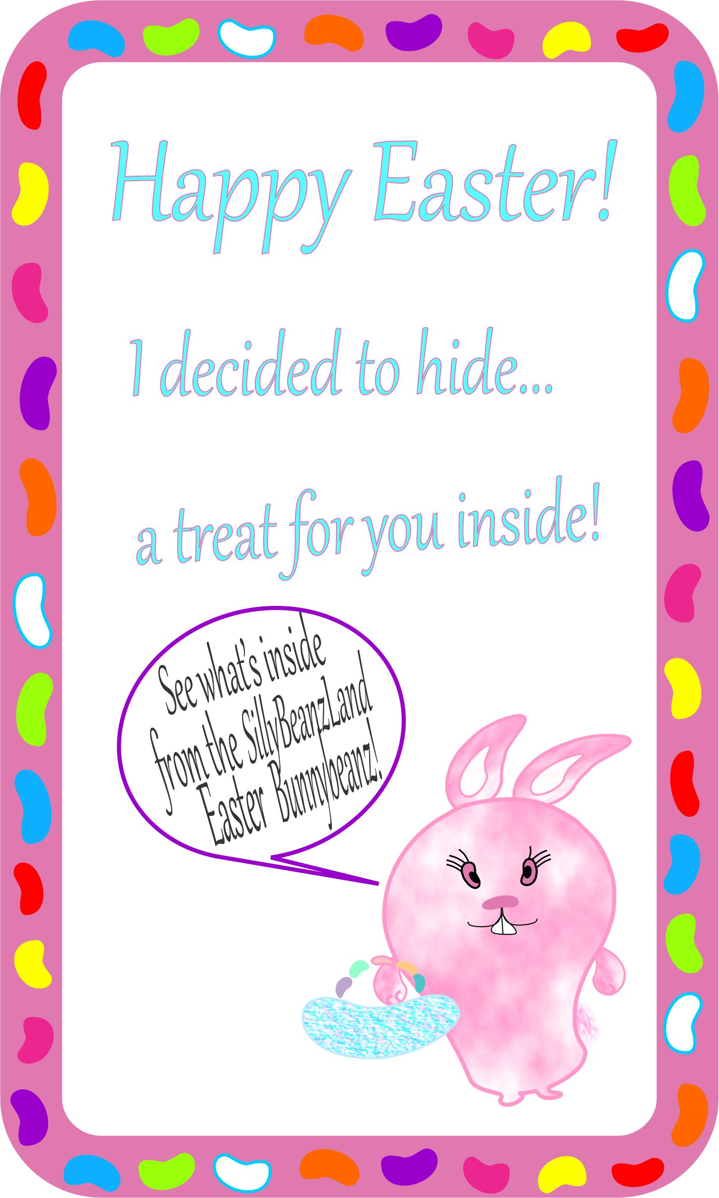 photo regarding Easter Card Printable known as Easter Card Produces Bunny Gles and Egg Holder! -