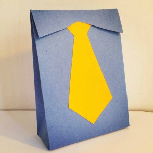 Shirt and Tie Gift Bag - Paper Craft