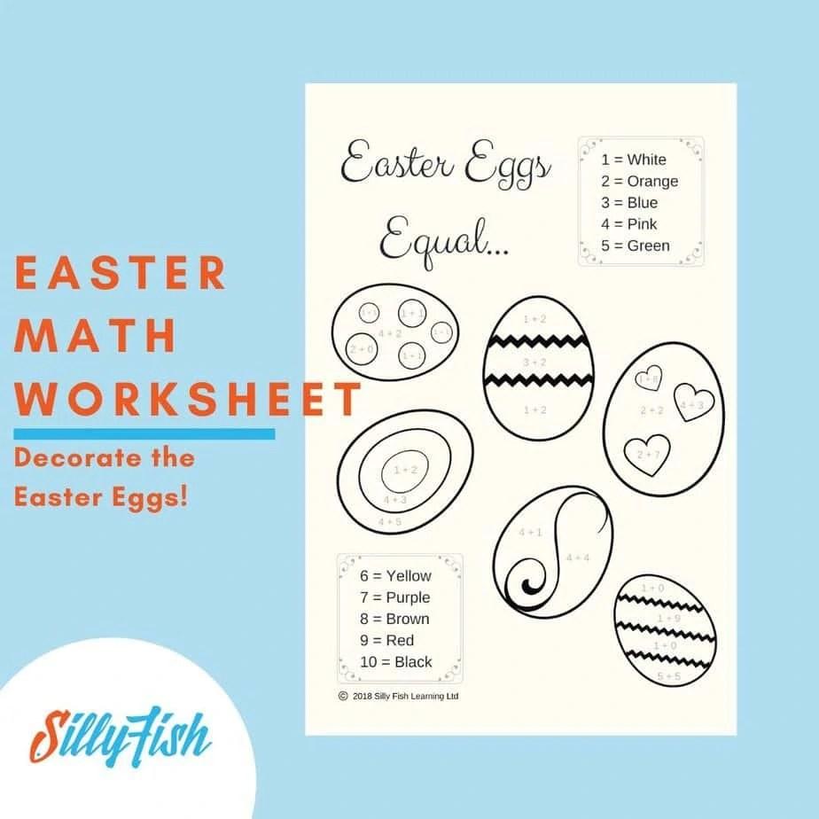 Easter Math Worksheet