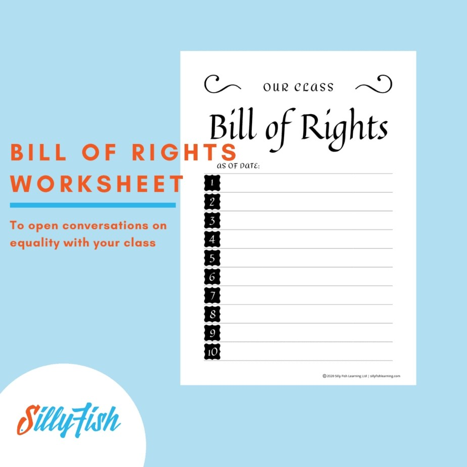 Free Bill Of Rights Worksheet