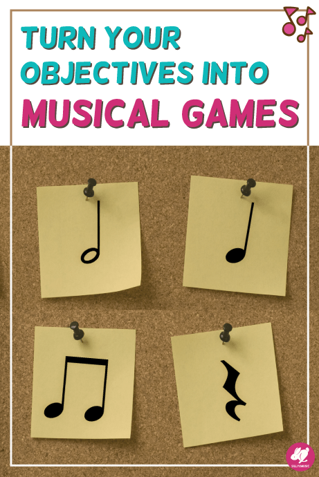 A nice tutorial on how to set up a Musical 4 Corners game for your elementary music classroom. You can take any concept and incorporate it into a game so middle school band, choir, and general music students love it too! A fun, active game to end your music lesson plans with!