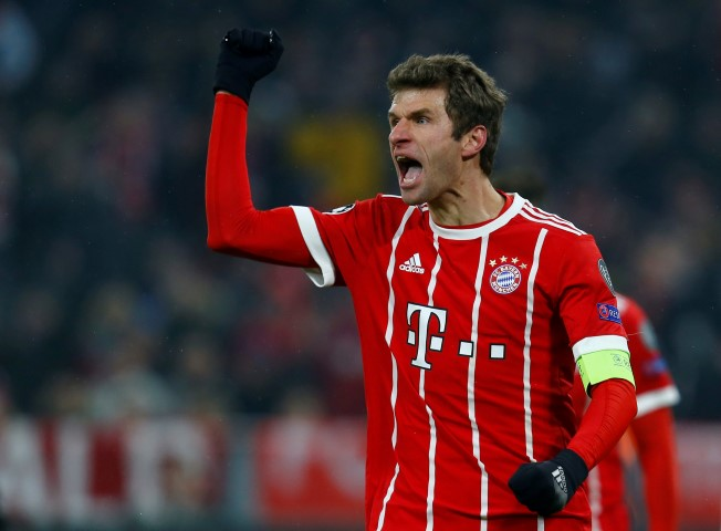 Assist kings in Football Europe past five seasons Thomas Muller