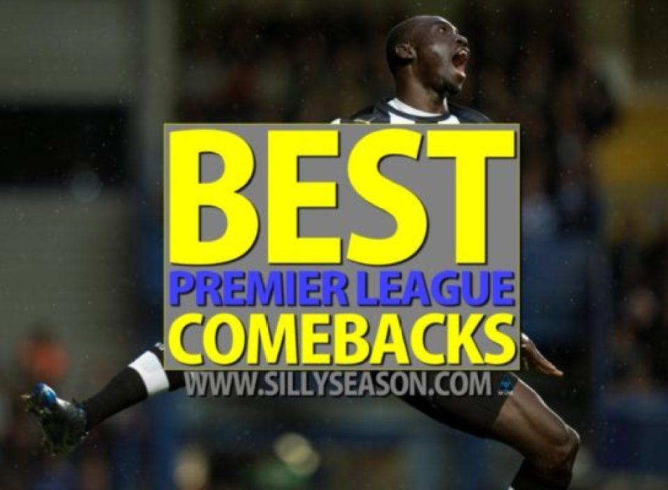 10 Best Premier League comebacks