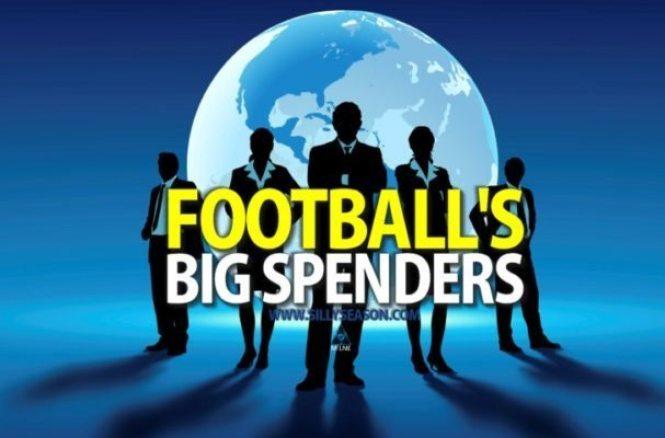 Top ten highest spending football clubs