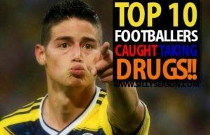 Top 10 Footballers Caught Taking Drugs