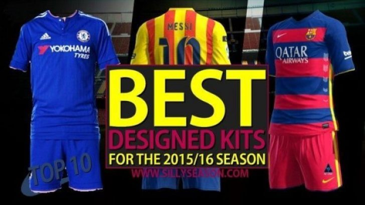 Top 10 Best Designed Kits In Football for the 2015/16 Season