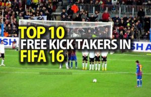 Top 10 Free Kick Takers in FIFA 16