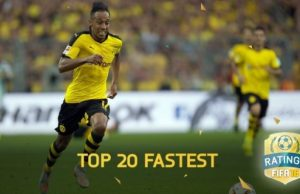 Top 20 Fastest Players in FIFA 16