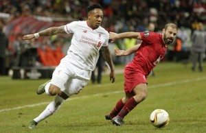 Fotboll, Europa League, Rubin Kazan - Liverpool