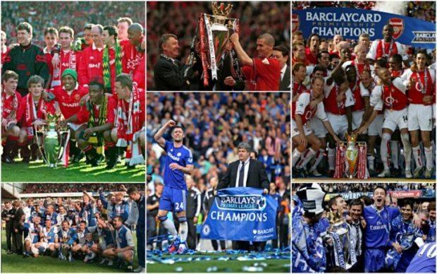 Premier League winners list by year - All time past winners 2019